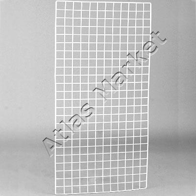 купить белую металлическую решетку